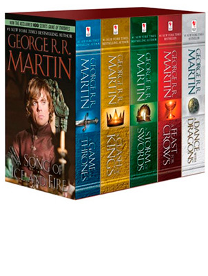SONG OF ICE AND FIRE BOXSET VOLUMES (TV) A