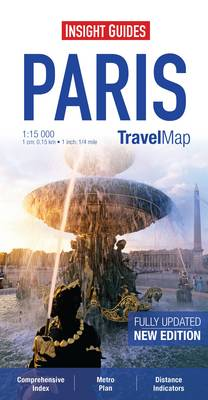 PARIS INSIGHT TRAVEL MAP
